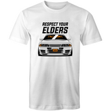 Elders Tee Black - Driven Car Care