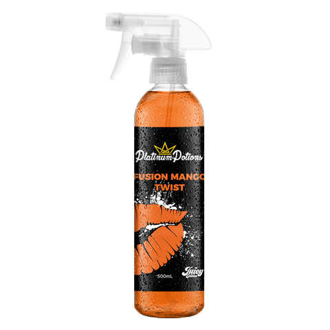 Platinum Potions Deodorizing Air Freshener - Fusion Mango Twist - Driven Car Care