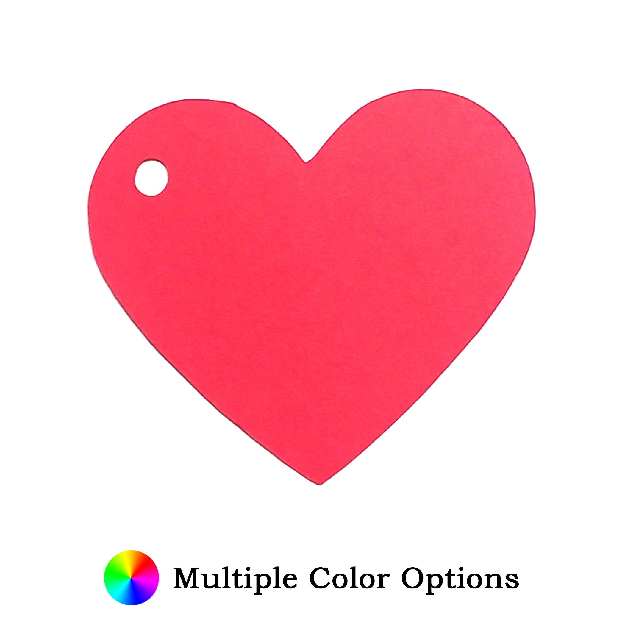 """Heart Shape Gift Tags - 2.5"""" H x 2.25"""" W (25 per order)"""