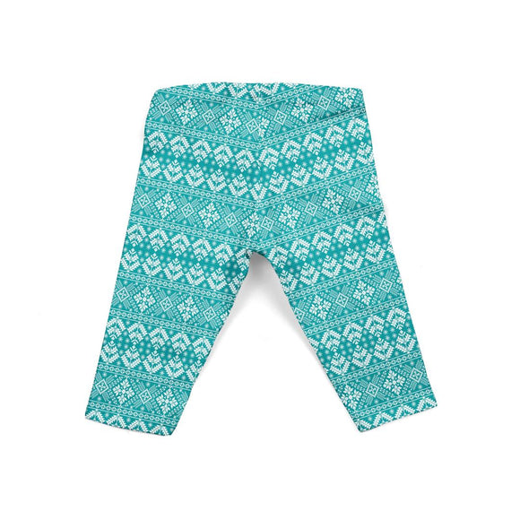 Infant Teal Snowflakes