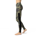 Veronica Mesh Dark Green Camo