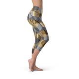 Nellie Yoga Golden Geometric