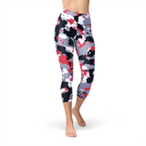 Nellie Yoga Red White Camo