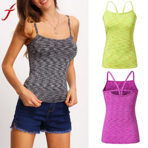 Multi-color Slim Fitness Camis