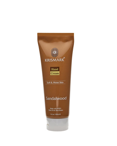 Krismark Hand Cream With Palm Oil and Shea Butter - Sandalwood