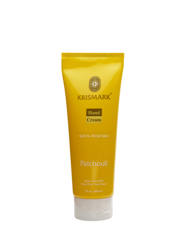 Krismark Hand Cream With Palm Oil and Shea Butter - Patchouli