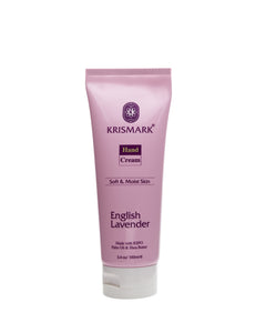 Krismark Hand Cream With Palm Oil and Shea Butter - English Lavender