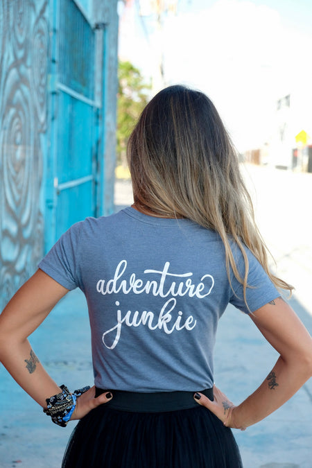 Adventure Junkie Teal