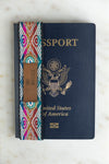 Passport Accessory, a Handmade Peace Out Bitches Passport Wrap with artisanal details and fabric.