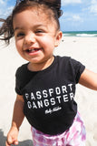 Passport Gangster Baby Tee