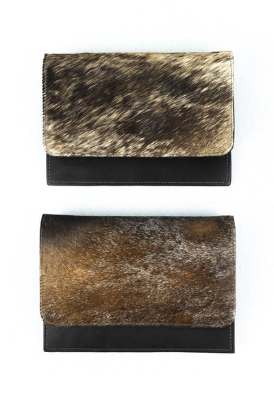 Cowhide Convertible Belt Bag