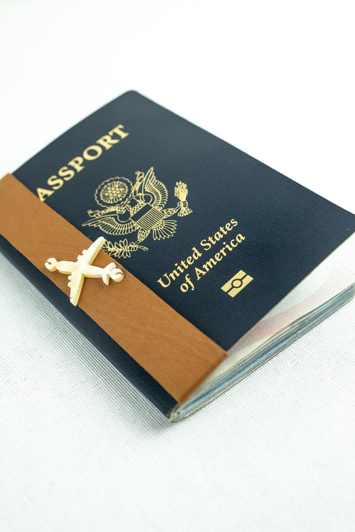 Jet Set Passport Wrap