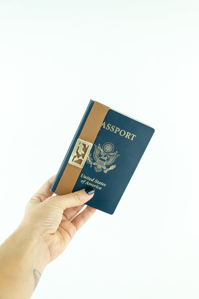 World Map Passport Wrap