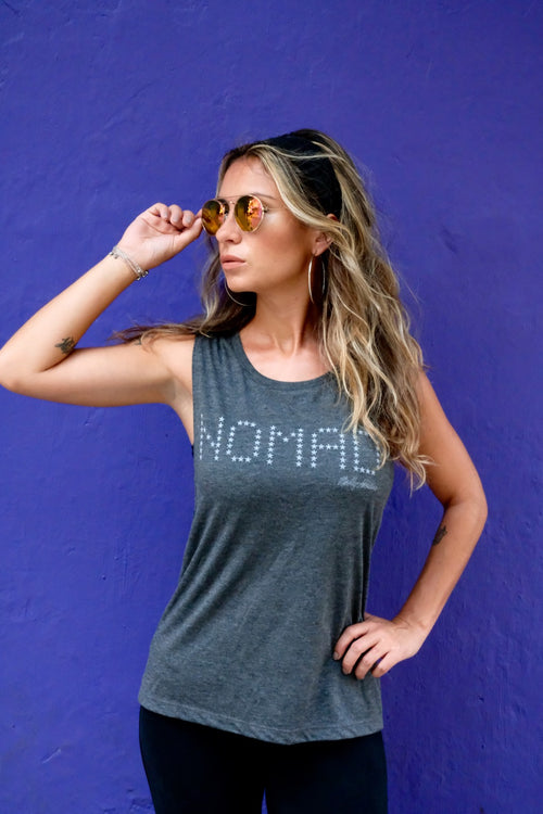 Nomad Star Print Muscle Tank
