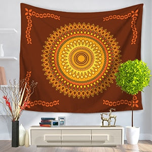 Datura Flowers Tapestry