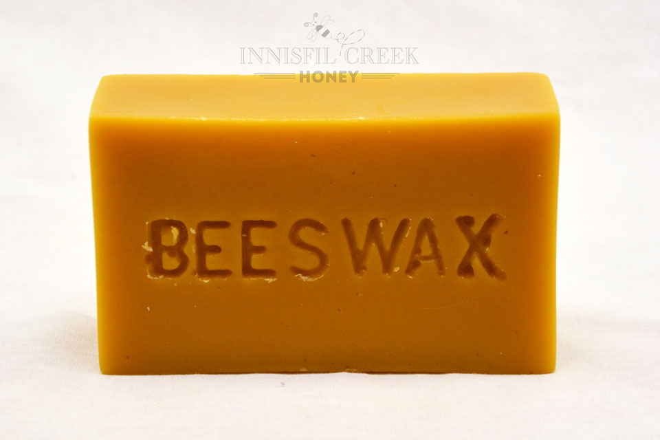 454 gram brick of beeswax