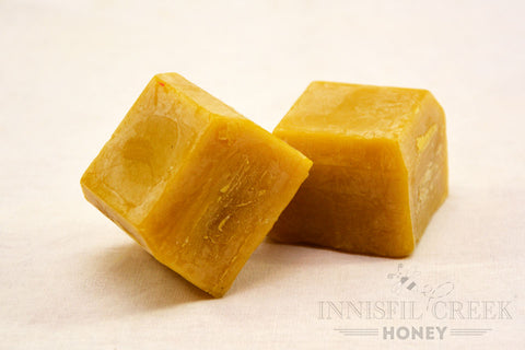 60 gram cubes of beeswax