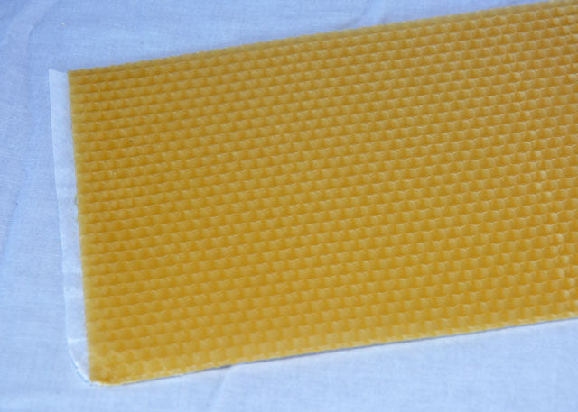 Beeswax Foundation for Cut Comb - 5.5""