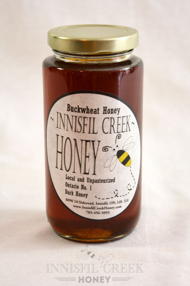 Local Ontario Buckwheat Honey