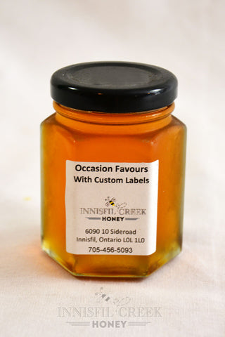 150 gram local ontario honey wedding favour
