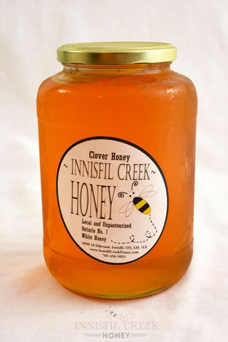 2 kg jar of local ontario wildflower Honey