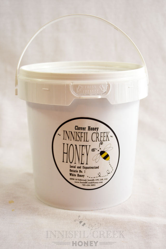 3 kg pail of local ontario wildflower Honey