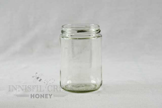 375 ml / 500 gram Short Jar with Lid - Case of 12
