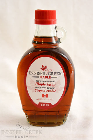 250 ml bottle of Local Ontario Maple Syrup
