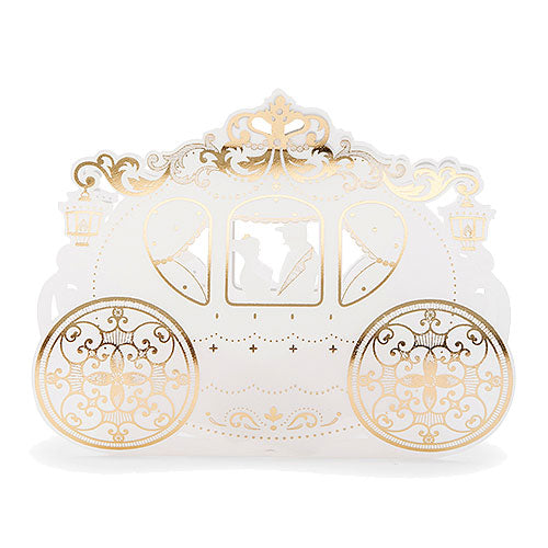 Cinderella Wedding Carriage Favor Box