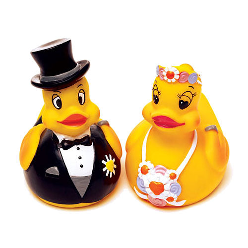 Bride Or Groom Rubber Duck Wedding Favor