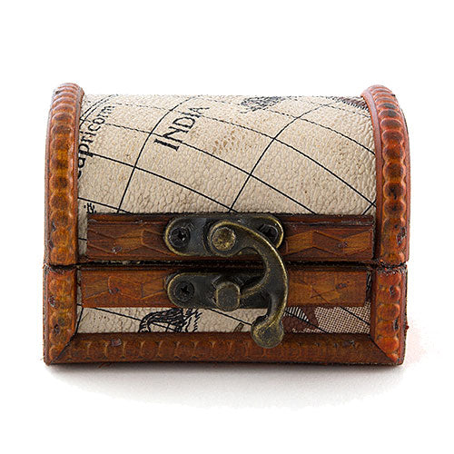 Mini Wooden Treasure Chest Favor (Pkg. of 6)
