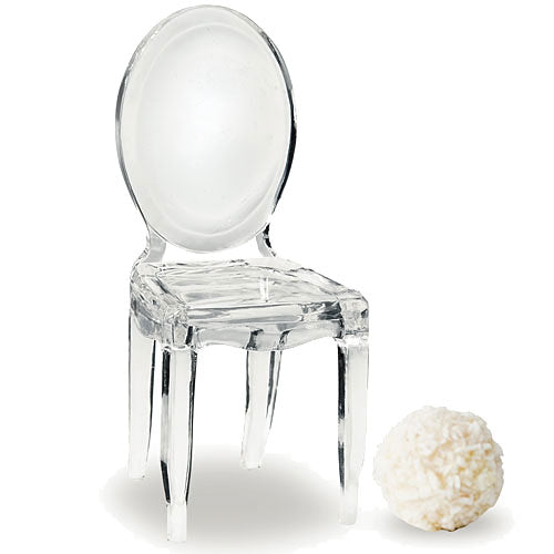 Miniature Clear Acrylic Phantom Chairs (Pkg. of 8)