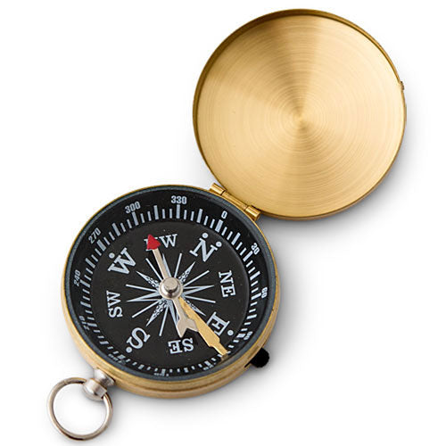Gold Compass Wedding Favor (6 - Pack)