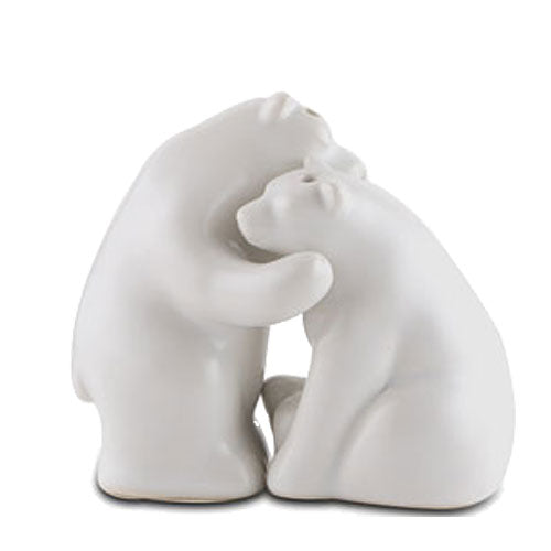 Ceramic Bear Salt And Pepper Shakers Favor Gift Boxed