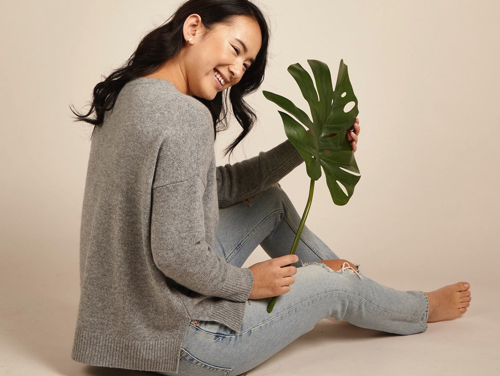 cashmere fashion sustainable ethical sustainability green earth knitwear sweater jumper soft comfortable quality