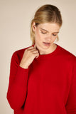 Cora Cashmere <em>in red</em>