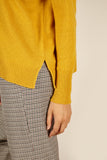 Cora Cashmere <em>in mustard yellow</em>