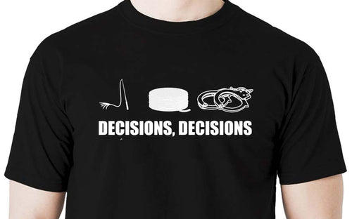 Decisions Men's t shirt