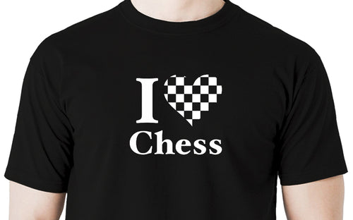 I love chess Men's t shirt