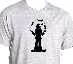 Clown Juggling cats Men's t shirt