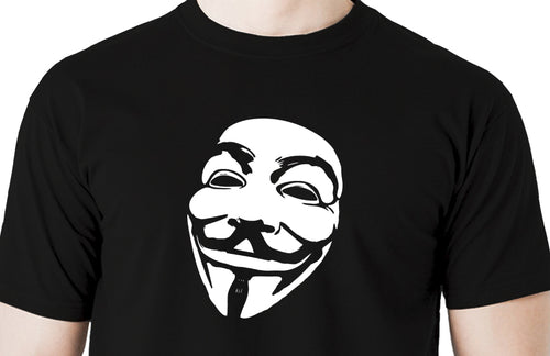 Anonymous Vendetta Mask Men's t shirt