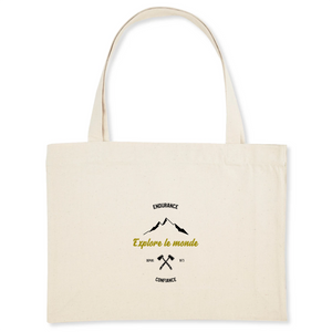 Shopping bag en cotton bio - Explore le monde