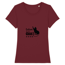 t-shirt-chat-femme-esclave-de-mon-chat-bordeaux