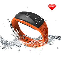 Watch Me if You Can : Bracelet cardiomètre avec affichage LED - Bluetooth 4.0