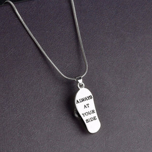 pendentif patte de chien argent always at your side