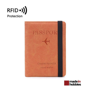 protege-passeport-personnalise-RFID-orange