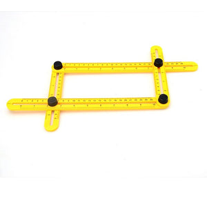 Multi-Angle Ruler and Template Tool - Now It's Easy to Measure Everything!