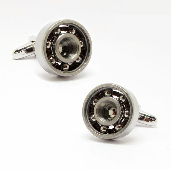 Ball Bearing Cuff Links - Perfect for engineers/mechanics/techs who need to dress up.