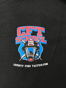 CFT Fire School Black Long Sleeve T-Shirt