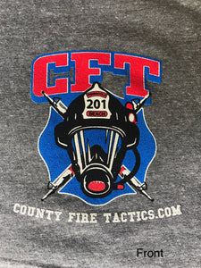 CFT It's Worth The Risk Grey Short Sleeve T-Shirt